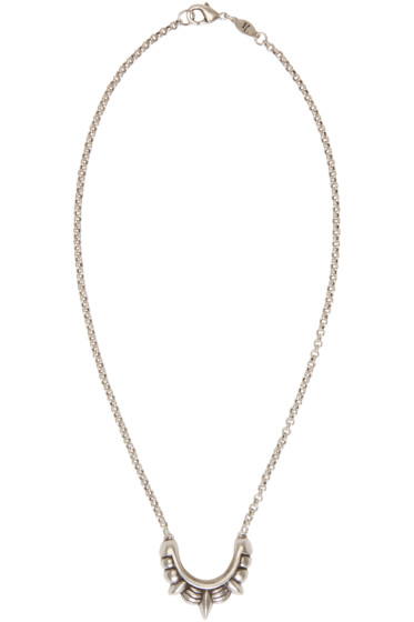 Pamela Love - Silver Small Tribal Spike Necklace
