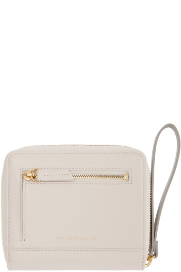 Want Les Essentiels - White Portela Zip Wallet