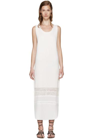 Chloé - Cream Wool & Silk Dress