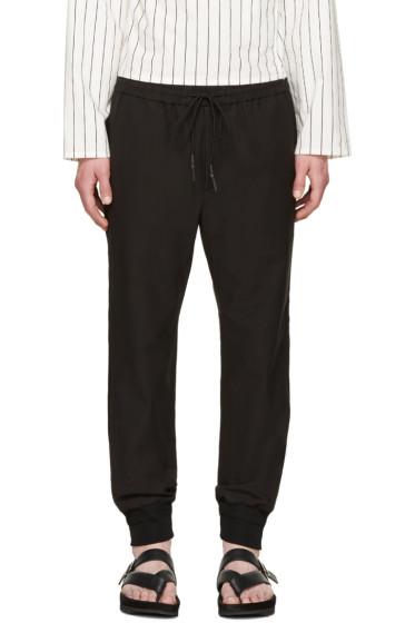 Juun.J - Black Cuffed Lounge Pants