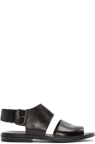 Marsèll - Black Leather Sandals
