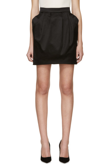 Pierre Balmain - Black Pleated Skirt