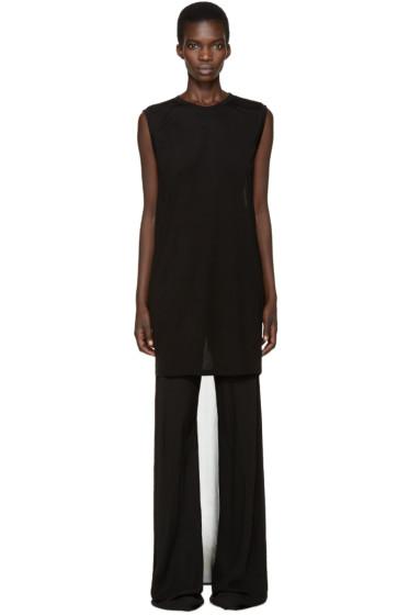 Gareth Pugh - Black Droptail T-Shirt