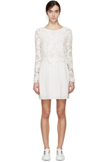 See by Chloé - White Lace Dress