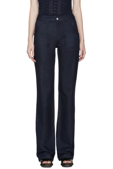 See by Chloé - Indigo Flared Jeans
