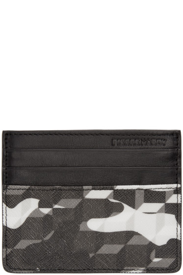Pierre Hardy - Black Printed Card Holder