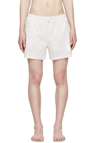 Thom Browne - Tricolor Striped Swim Shorts