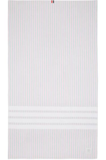 Thom Browne - Tricolor Striped University Towel