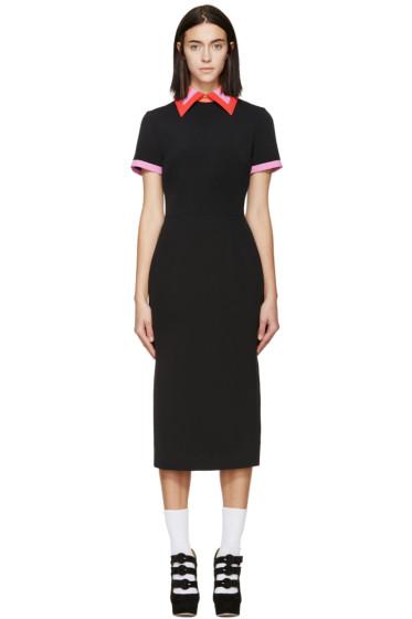 Roksanda - Black & Violet Bayham Dress