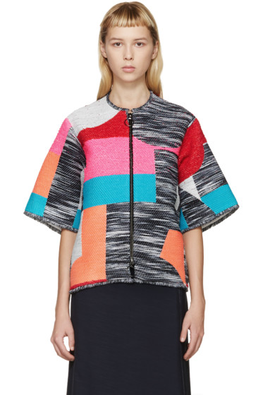 Roksanda - Multicolor Jacquard Macklin Jacket
