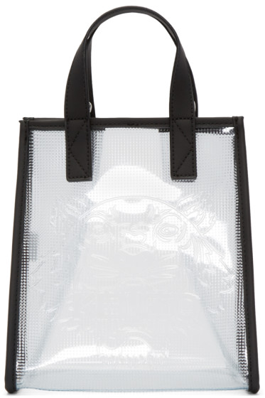 Kenzo - Clear Vinyl Tiger Tote