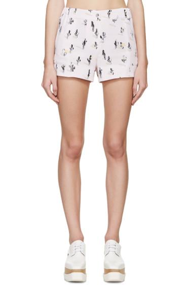 Kenzo - Pink Cartoon Cactus Shorts