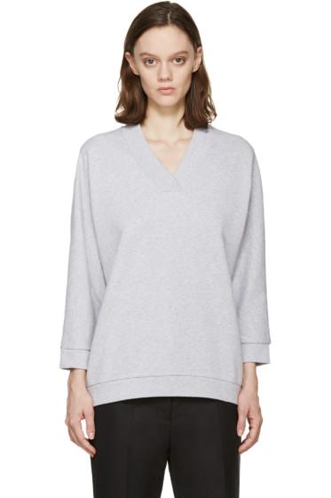 Kenzo - Grey V-Neck Pullover