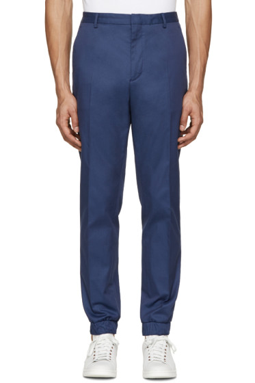 Kenzo - Navy Cotton Trousers