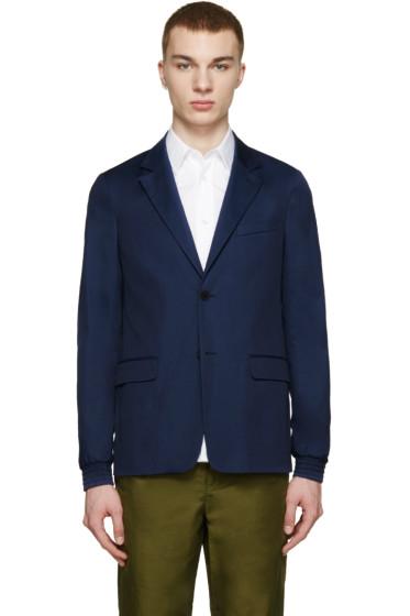 Kenzo - Navy Cotton Classic Blazer