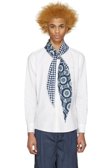 Sasquatchfabrix - White Scarf Shirt