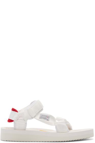 Sasquatchfabrix - White Suicoke Edition Sandals