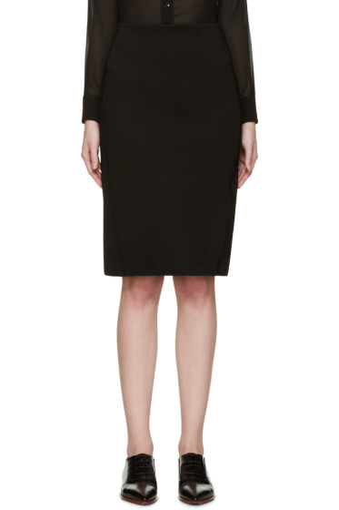 Dion Lee - Black Tech Pencil Skirt