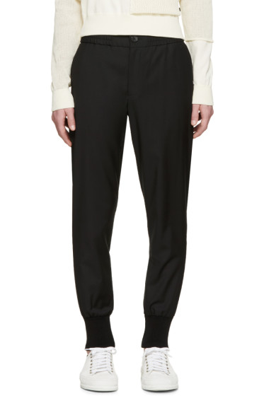 PS by Paul Smith - Black Cuffed Gents Trousers
