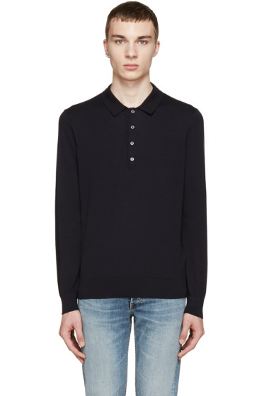 PS by Paul Smith - Navy Knit Polo