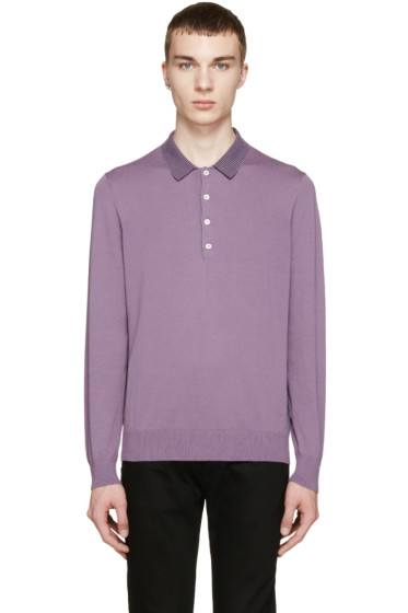 PS by Paul Smith - Purple Knit Polo