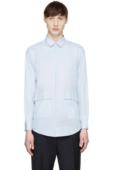 MSGM - Blue Pocket Shirt