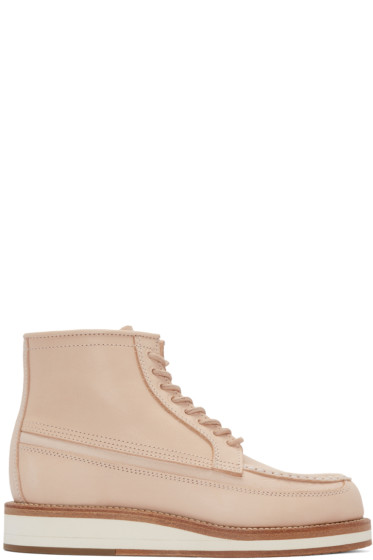 Sacai - Pink Hender Scheme Edition Leather Boots