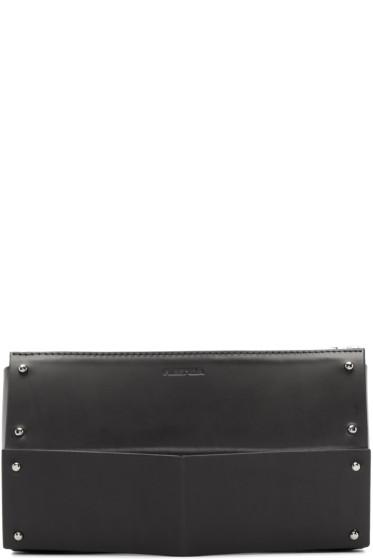 Fleet Ilya - Black Studded Leather Clutch