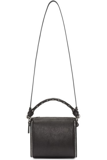 Fleet Ilya - Black Zip Trim Shoulder Bag