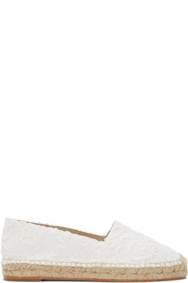 Stella McCartney - White Lace Espadrilles