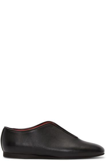 Stella McCartney - Black Open Loafers