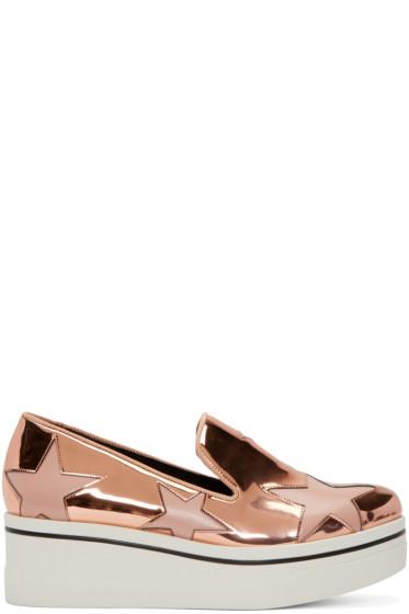 Stella McCartney - Copper Star Platform Binx Sneakers
