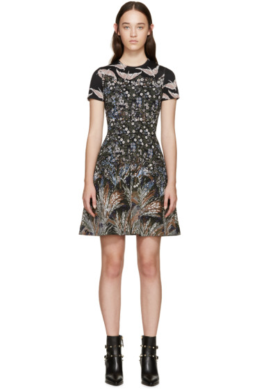 Valentino - Multicolor Jacquard Garden Party Dress