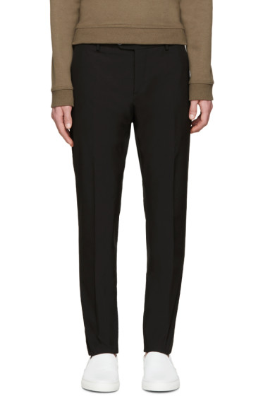 Valentino - Black Skinny Trousers