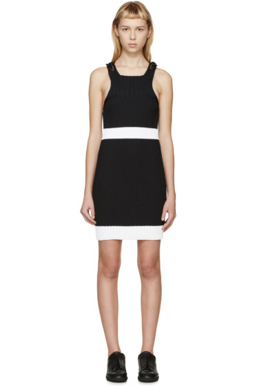 Calvin Klein Collection - Black Fitted Winslow Dress