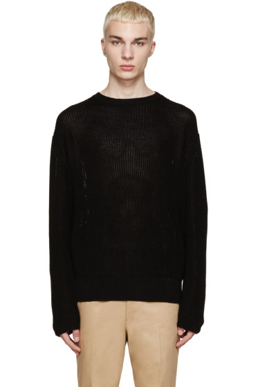 Yang Li - Black Knit Sweater
