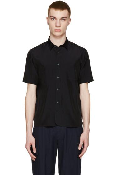 08Sircus - Navy Taffeta Shirt
