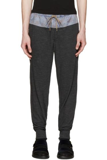 Kolor - Grey Contrast Lounge Pants