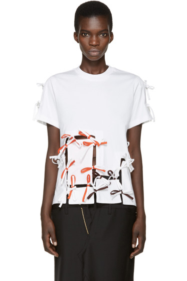 Facetasm - White Tie T-Shirt