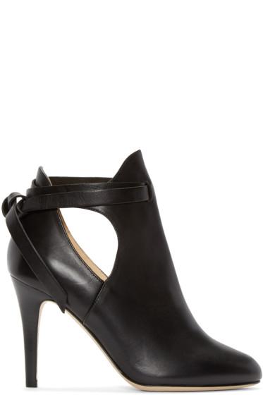 Jimmy Choo - Black Marina Ankle Boots