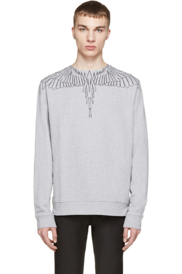 Marcelo Burlon County of Milan - Grey Maipu Pullover