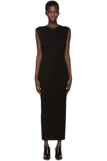 Haider Ackermann - Black Sleeveless Nikorma Dress