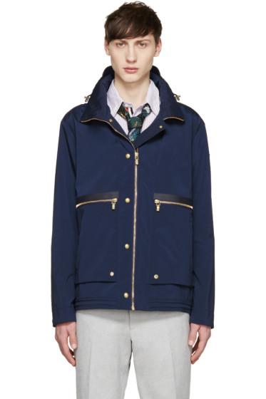 Moncler Gamme Bleu - Navy Nylon Short Jacket