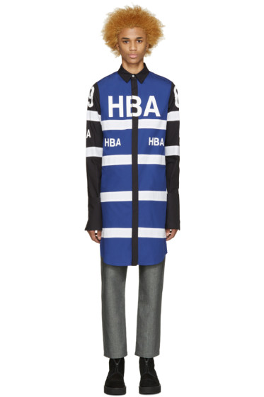 Hood by Air - Tricolor Long 69 Jockey Shirt