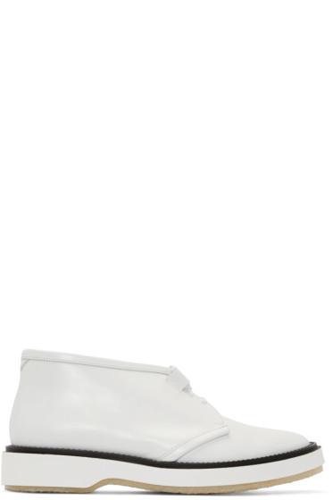 Adieu - White Type 2C Desert Boots
