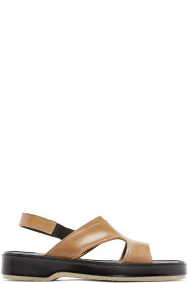 Adieu - Tan Leather Type 43 C Sandals