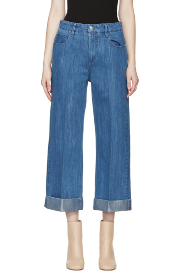 Each x Other - Blue Wide-Leg Jeans