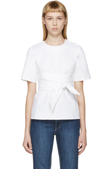 Each x Other - White Belted Top