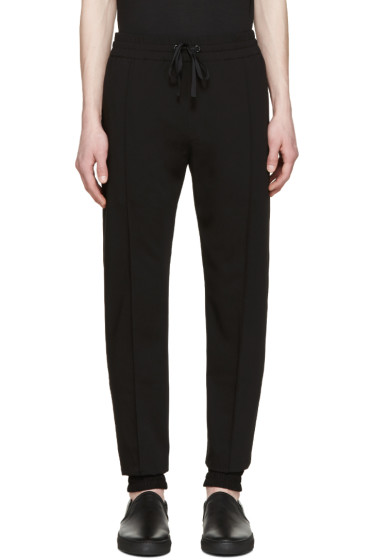 Pyer Moss - Black Drawstring Trousers