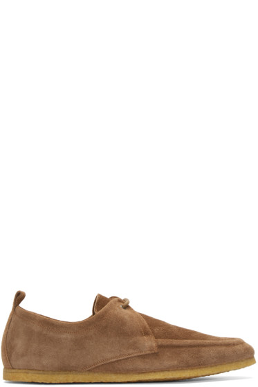 Burberry London - Brown Suede Tobias Moccasins